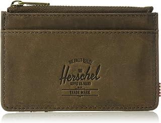 Herschel Supply Co. Men's Oscar Leather RFID, nubuck brown One Size