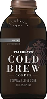 Starbucks Cold Brew Black Coffee, Unsweetened, 11 oz