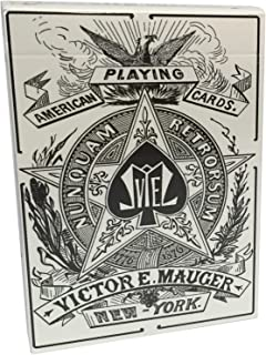 Mauger 1876 Centennial Exposition Playing Cards Restoration