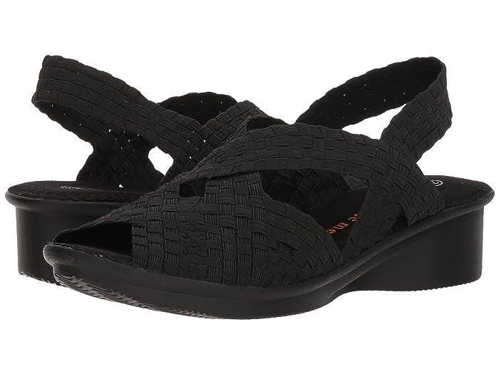bernie mev.  Kira (Black) Womens Sandals
