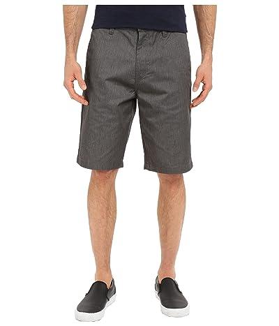 Volcom Frickin Chino Shorts (Charcoal Heather) Men