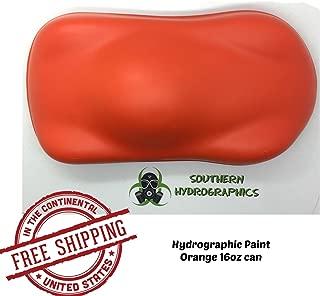 Base Coat - Orange -16oz Aerosol - Hydro Film Dip Paint - Hydrographics Film - Hydro Dip Film - Hydrographic Film - Water Transfer Printing - Hydro Dipping