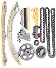 Exerock TK10790,TS11833 Timing Chain Kit with Tensioner Guides Fit Honda Accord Crosstour Acura TSX ILX 2.4L DOHC K24Z