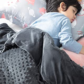 Bedsure Weighted Blanket for Children with Removable...