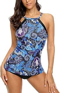 Women's Tankini Set Tribal Swimsuits Two Piece Bathing Suits Swimwear