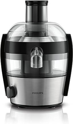 Philips Extractor de jugos compacto metal HR1836/02