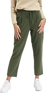 Pieces PCSIA MW ANKLE PANTS DC Kadın Pantolon