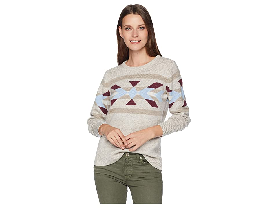 Pendleton Heritage Merino Pullover (Natural Multi) Women