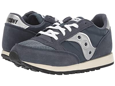 Saucony Kids Jazz Original Vintage (Little Kid/Big Kid) (Navy) Boy