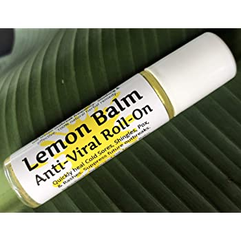 "Urban ReLeaf Lemon Balm Cold Sore & Shingles ROLL-ON! Quickly Soothe Blisters, Chicken Pox, Bumps, Rashes, Bug Bites. Suppress Future outbreaks. 100% Natural.""Goodbye, Itchy red Bumps!"""