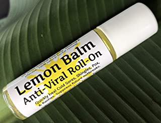 Urban ReLeaf Lemon Balm Cold Sore & Shingles ROLL-ON! Quickly Soothe Blisters, Chicken Pox, Bumps, Rashes, Bug Bites. Suppress Future outbreaks. 100% Natural.
