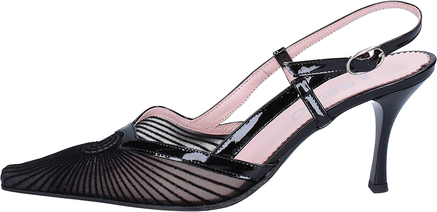 IL GRECO Pumps-shoes Womens Black 9 US