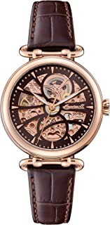 Star Womens Analog Automatic Watch with Leather bracelet I09402