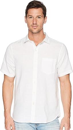 Short Sleeve Lanai Tides Linen Shirt