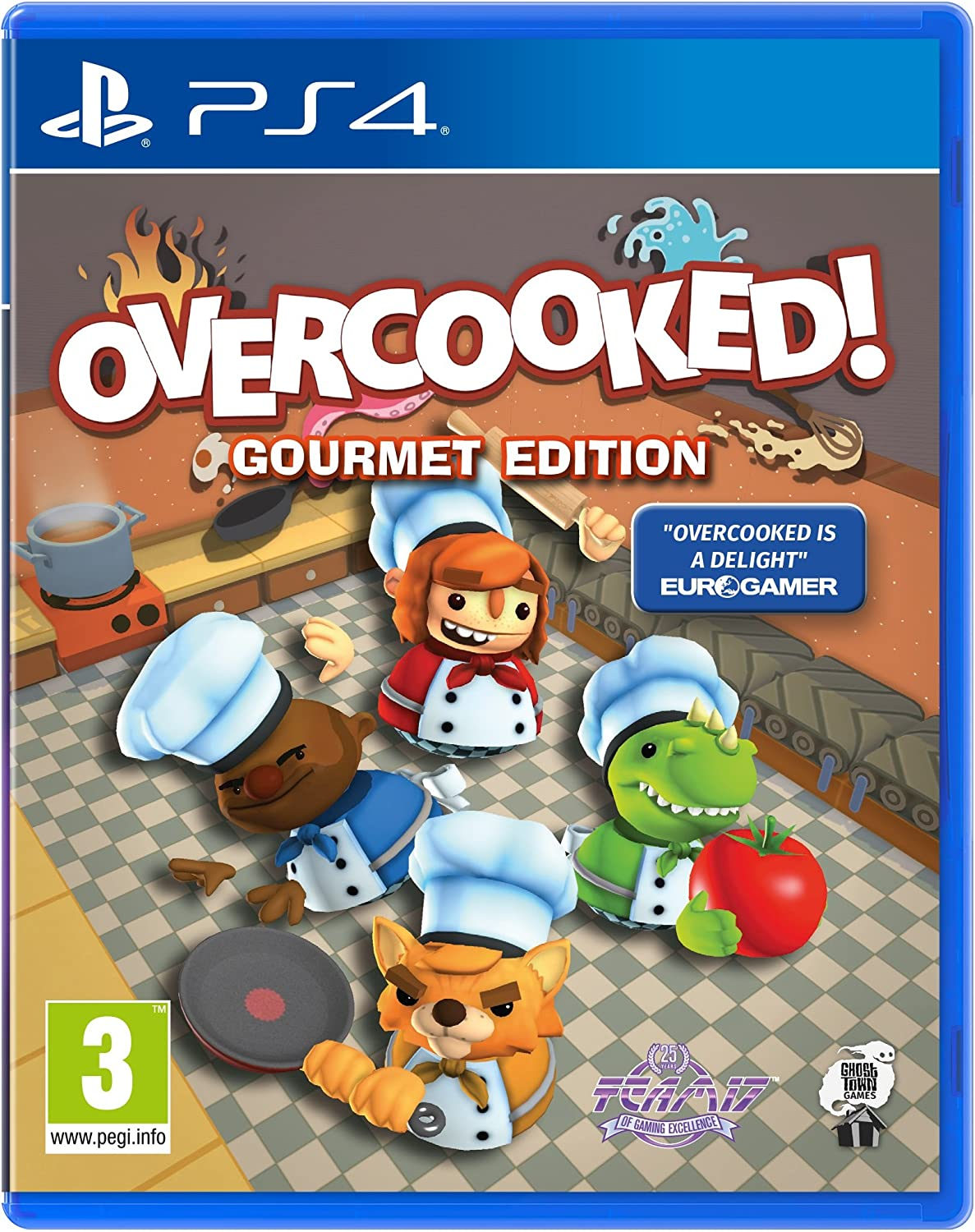 Overcooked - Gourmet Edition (Inc.DLC The Lost Morsel)
