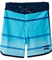 73 X Stripe Boardshorts (Big Kids)