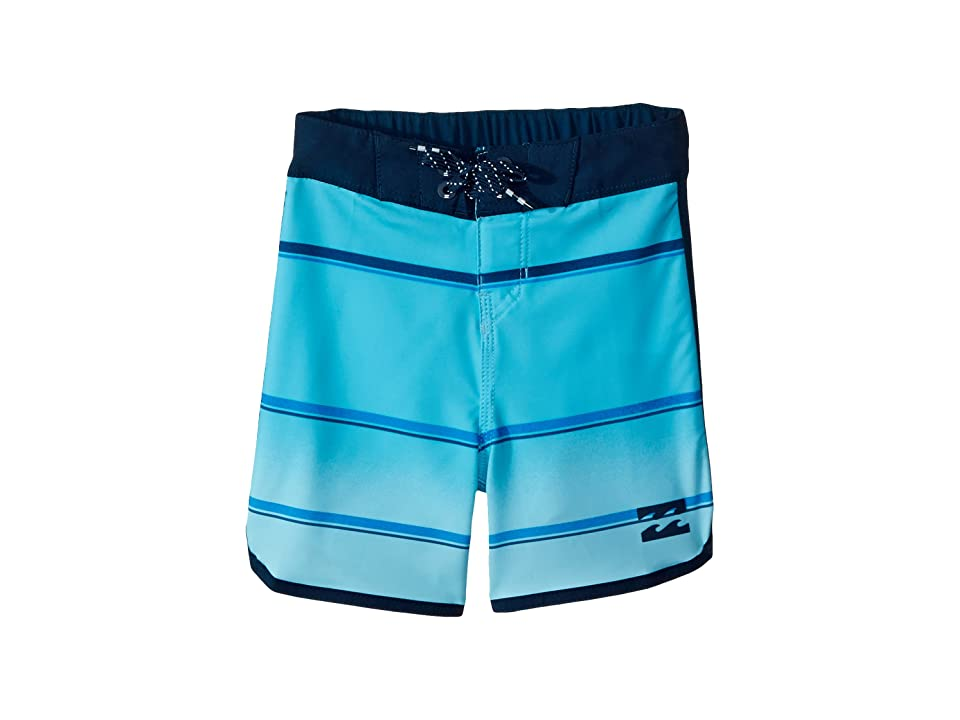 Billabong Kids 73 X Stripe Boardshorts (Big Kids) (Light Blue) Boy
