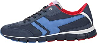 Boras Fashion Sports Goal 5250-1580 Unisex Trainers in Plus Sizes Navy / Blue / Red