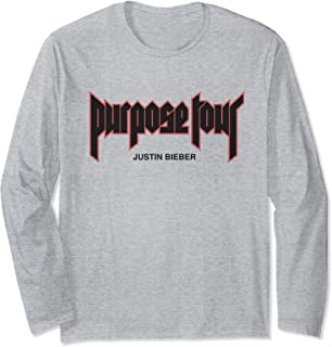 justin bieber purpose long sleeve shirt