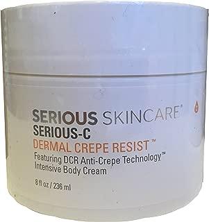 Serious Skincare Serious-C Dermal Crepe Resist 8 ounce Intensive Body Cream
