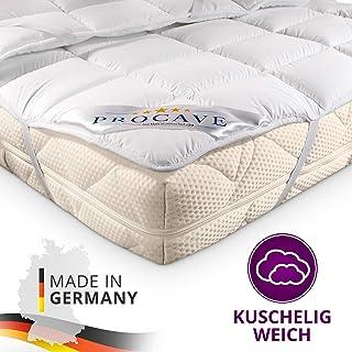 comprar comparacion PROCAVE Micro Confort Protector colchón en Varios tamaños, Made in Germany, Funda colchón de Microfibra y poliéster, Soft ...