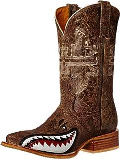 shark cowboy boots
