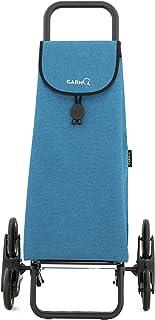 Azul Garmol Carro Compra 55L