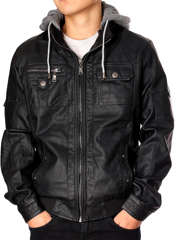 RNZ PREMIUM Designer Faux Leather Jacket