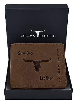 URBAN FOREST Men's Tobacco Wallet