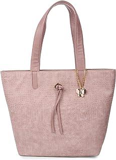 Butterflies Handbag For Women's & Girl's (Peach) (BNS 0739PCH)