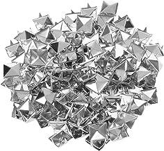 500 Stuks Piramide Klinknagels Vierkante Piramide Klauw Klinknagels Metalen Klinknagels Klinknagels Punk voor DIY Zak Jean...