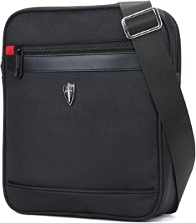 V7002 Vertical Shoulder Messenger Bag for iPad/Tablet Upto 10.1