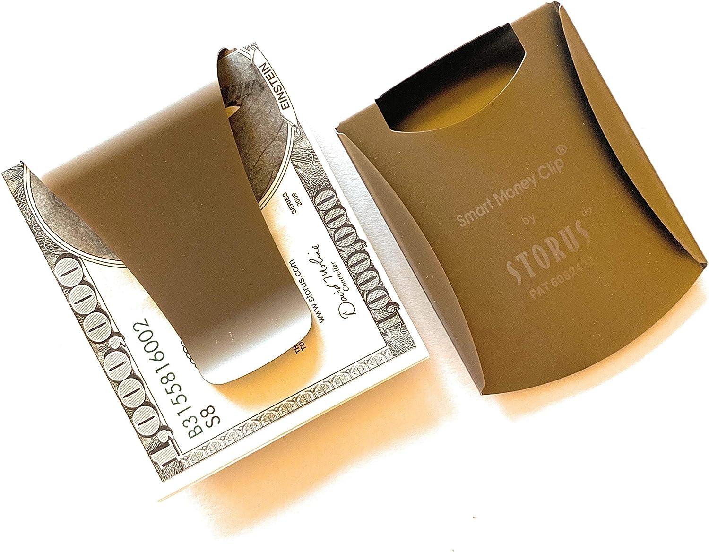 百貨店 オンライン限定商品 Storus Smart Money Clip Card Poc Wallet Minimalist Slim Holder