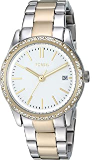 Fossil Women's Adalyn Stainless Steel Dress Quartz Watch