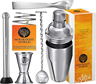 cocktail shaker (12 Pieces Set With Stand)