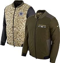 Dallas Cowboys Nike Salute to Service Sideline Bomber Jacket