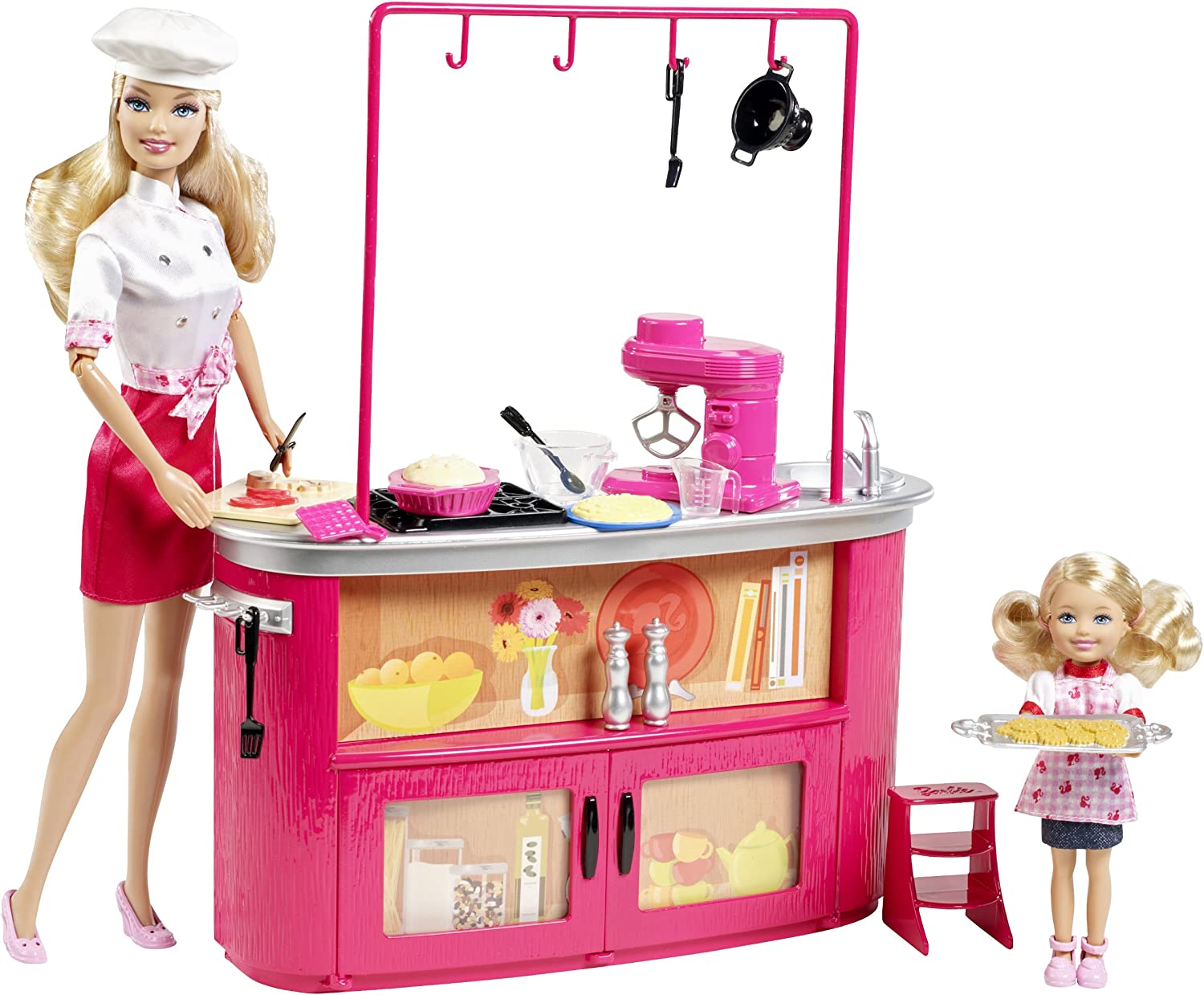 Sale price Barbie I Can Max 70% OFF Be Doll Playset Teacher Cooking