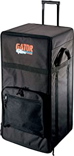 Gator Cases Lightweight Wooden Amp Head Case with Wheels and Pull Handle; (G-901)