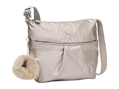 Kipling Ishani Crossbody Bag (Metallic Glow) Handbags
