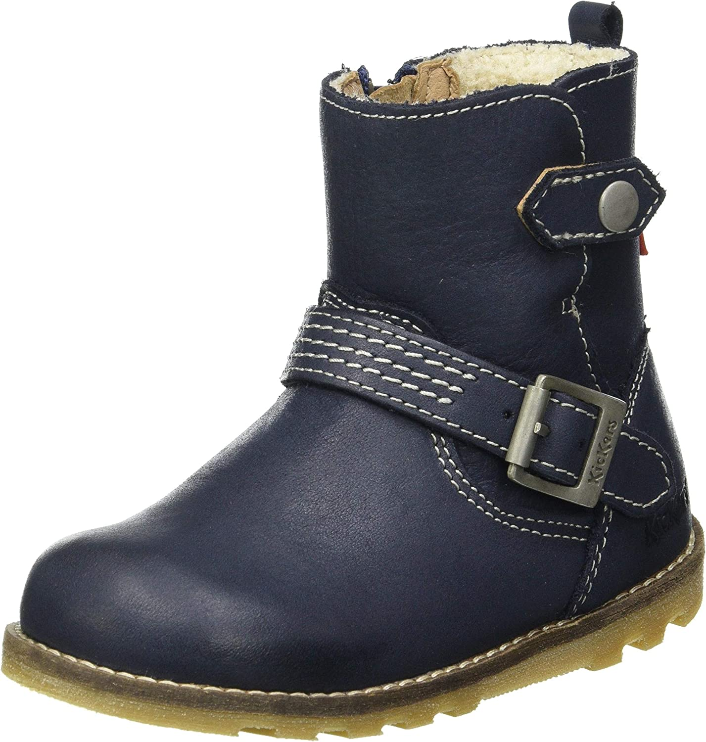 Max 74% OFF KICKERS Girl's Nonoboot Ankle Marine 11 Price reduction Boot