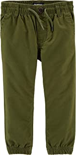 Boys' Pull-on Twill Joggers