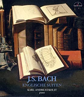 バッハ:イギリス組曲