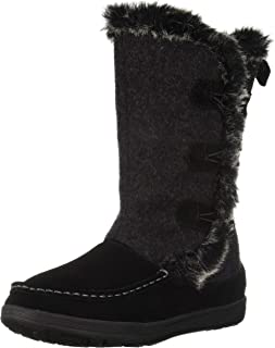 Woolrich Women's Elk Creek II Snow Boot, Black, 10 M US