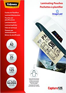 Fellowes ImageLast A3 125 Micron Laminating Pouch - (Pack of 25)
