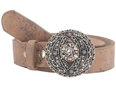 Leatherock Cosette Belt (Blush) Women