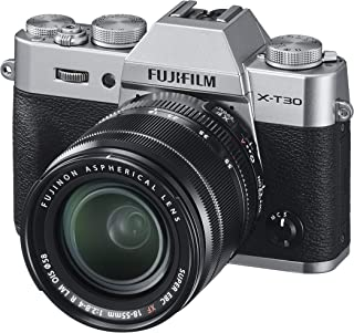 Fujifilm X-T30 Mirrorless Digital Camera With 18-55mm Lens