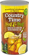 Country Time Powdered Drink Mix, Half Lemonade & Half Iced Tea, Caffeinated, 82.5 oz Cannister