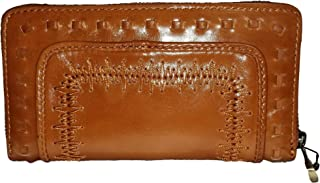Patricia Nash Discovery Signature Collection Imperia Chain Stitch Wallet (Tan)