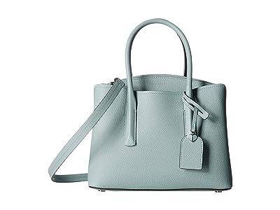 Kate Spade New York Margaux Medium Satchel (Hazy) Satchel Handbags