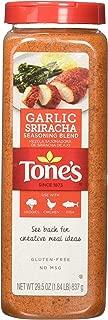 Tone's Garlic Sriracha Seasoning Blend (29.5 oz shaker)